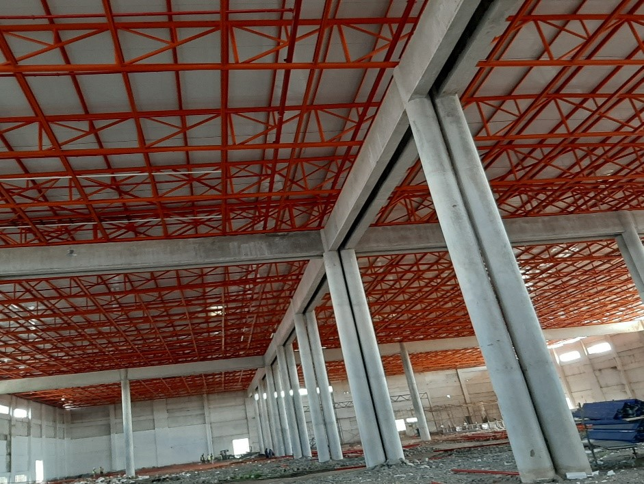 Structural steelworks